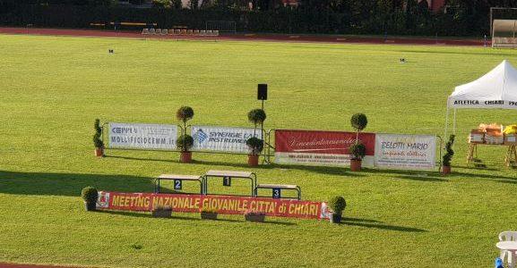 """XV MEETING GIOVANILE NAZIONALE """"CITTA' DI CHIARI"""